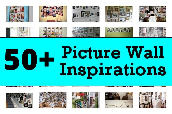 picture wall inspirations