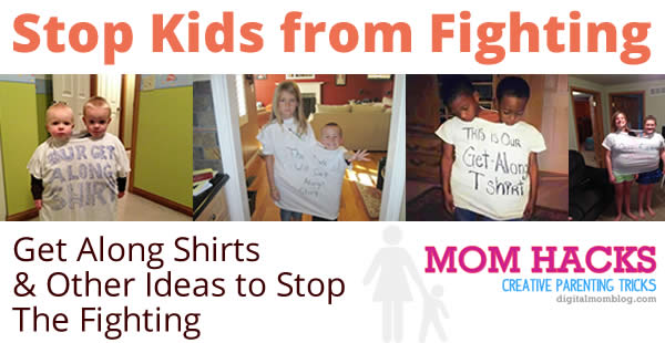 Get Along Shirt for Fighting Kids - Creative Parenting