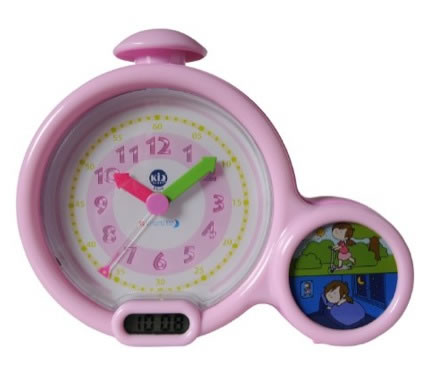 Pink Kids First Alarm Clock