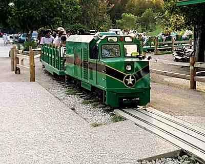 zilker park train
