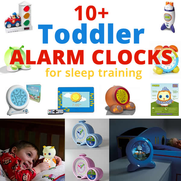 Toddler Alarm Clocks for Sleep Training