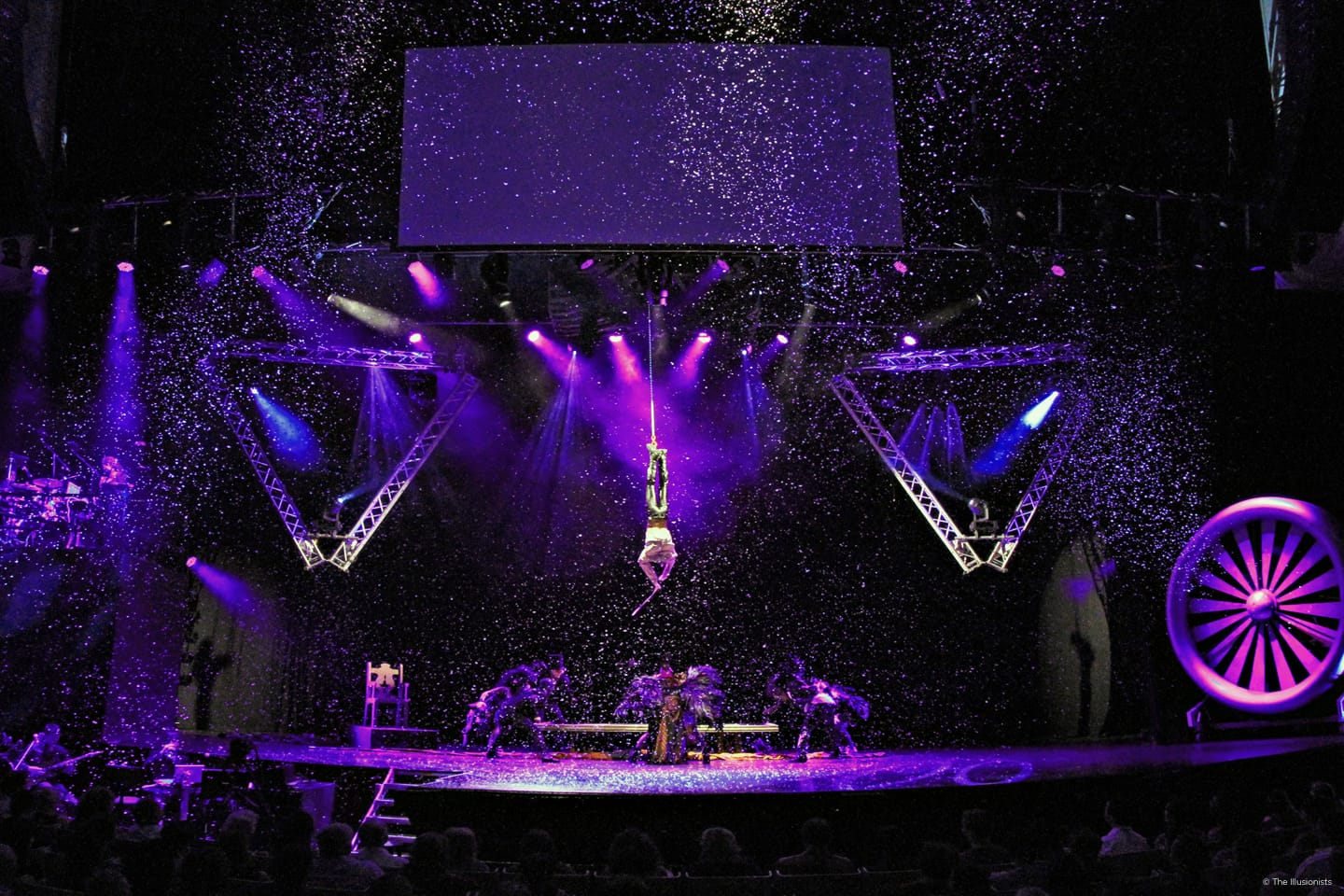 Andrew Basso - The Escapologist - Photo Credit The Illusionists