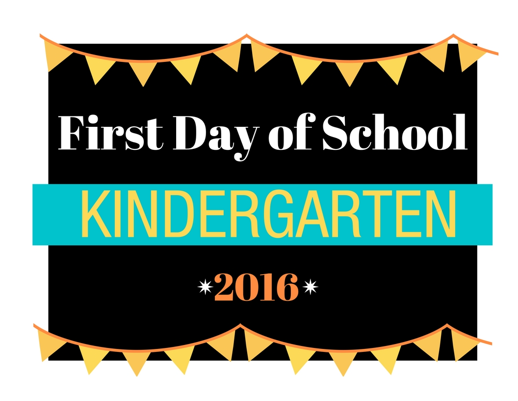first day of school sign template - first day of kindergarten printable worksheets