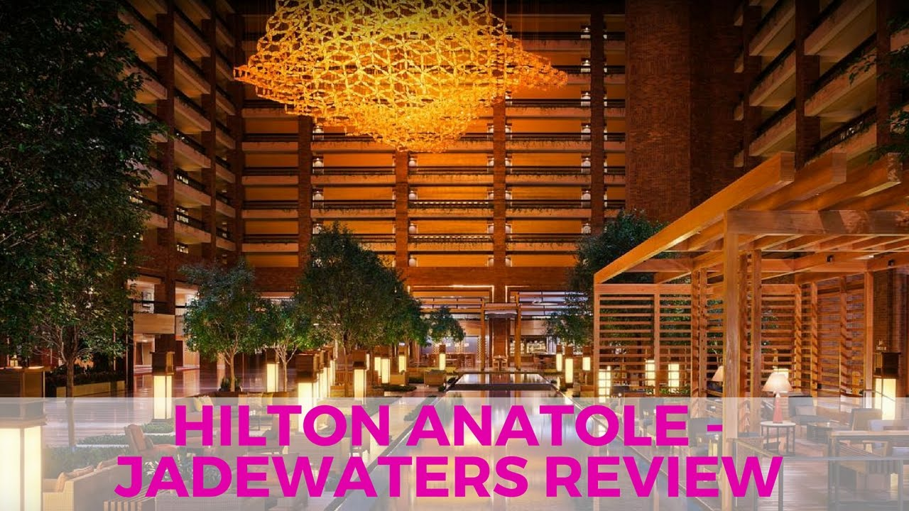 Staycation at the Hilton Anatole – Jade Waters Review – Travel Thursday