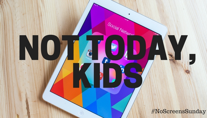 No Screens Sunday – Our New Parenting Hack To Limiting Screen Time