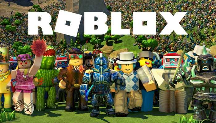 Characters from roblox games
